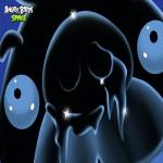 Angry Birds Space замёрзшая Свинья обои для iPad