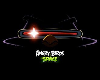 Обои Angry Birds Space Птица-лазер 1280x1024