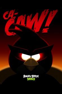 Angry Birds Space Красная птица обои для iPhone