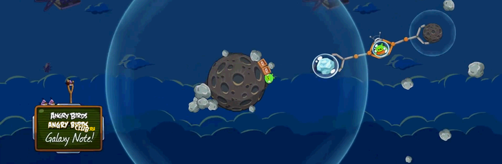 Гейсплей Angry Birds Space - с фестиваля SXSW