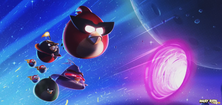 Angry Birds Space - Начало