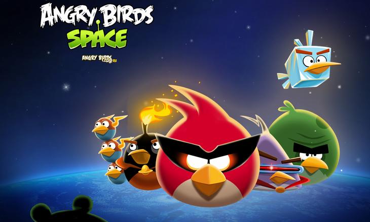 Angry Birds Space обои Wallpapers от UserZMK
