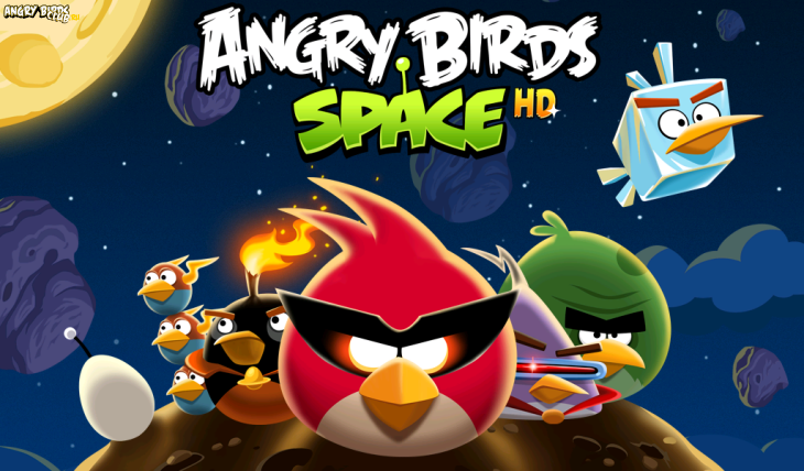 Вышла Angry Birds Space!
