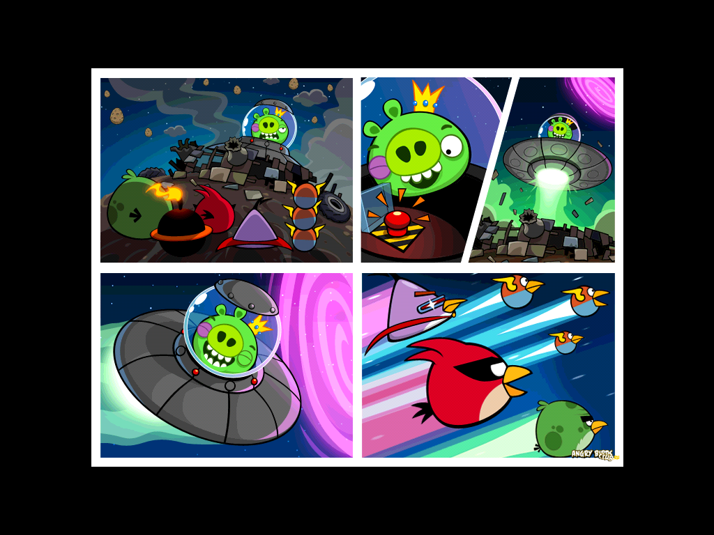 Вышла Angry Birds Space!!!   Фан-клуб Angry Birds