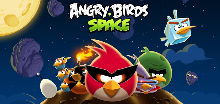 Космические птицы из Angry Birds Space