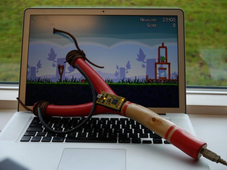 Angry Birds USB Рогатка