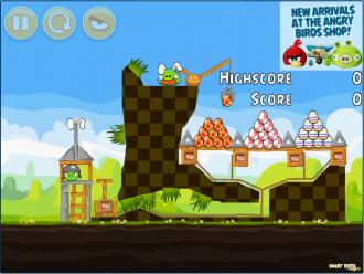 Angry Birds Chrome Пасхальные Яйца - Бонусный Уровень 2