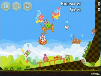 Angry Birds Chrome Пасхальные Яйца - Бонусный Уровень 3