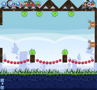 Angry Birds Facebook - Пасхальное Яйцо №1 - Уровень