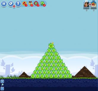Angry Birds Facebook - Пасхальное Яйцо №2 - Уровень