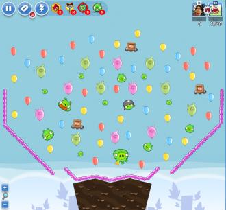 Angry Birds Facebook - Пасхальное Яйцо №3 - Уровень