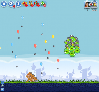 Angry Birds Facebook - Пасхальное Яйцо №4 - Уровень