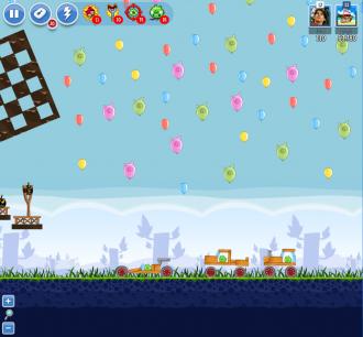Angry Birds Facebook - Пасхальное Яйцо №5 - Уровень