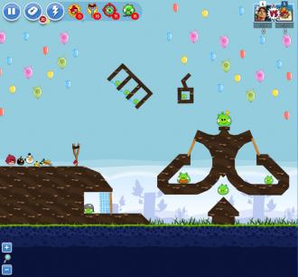 Angry Birds Facebook - Пасхальное Яйцо №6 - Уровень