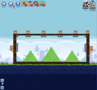 Angry Birds Facebook - Пасхальное Яйцо №7 - Уровень