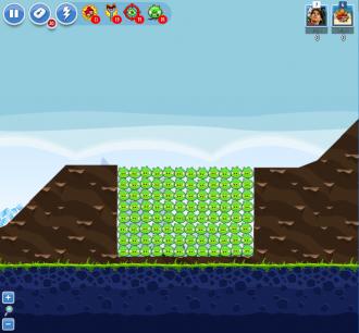 Angry Birds Facebook - Пасхальное Яйцо №8 - Уровень