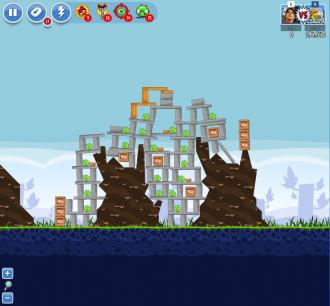 Angry Birds Facebook - Пасхальное Яйцо №9 - Уровень