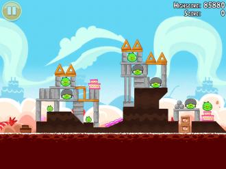 Angry Birds Free: Локация VIII - Уровень 2