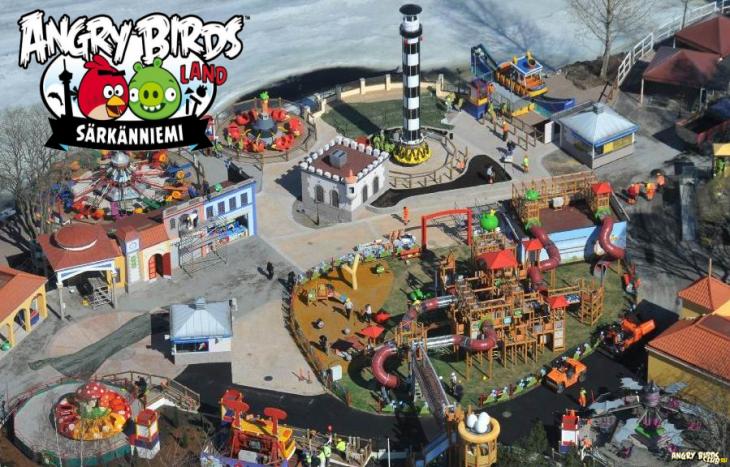 В Финляндии вот-вот откроется парк Angry Birds Land
