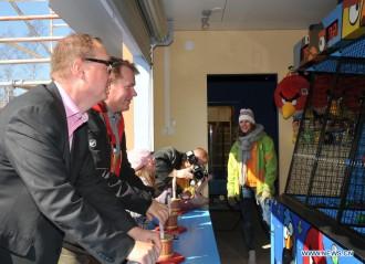 Миикка Сеппала и Харри Копонен посетили Angry Birds Land