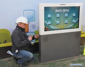 Игровые стенды Angry Birds - последняя настройка