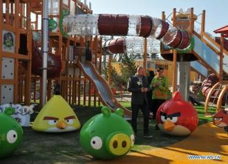 Аттракционы Angry Birds Land