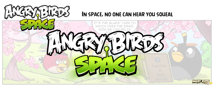 Комикс Angry Birds Space - Анлийская оригинальная версия