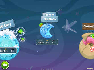 Angry Birds Space Fry Me to the Moon Выбор Эпизода