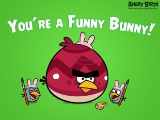 """Пасхальная Facebook-карточка """"Ты забавный кролик!"""""""