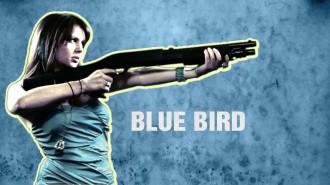 Постер Angry Birds Snatch - Синяя Птичка