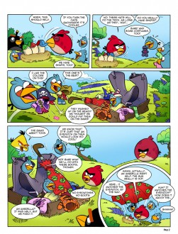 Комикс Angry Birds Space: Часть 2