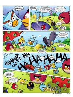 Комикс Angry Birds Space: Часть 5