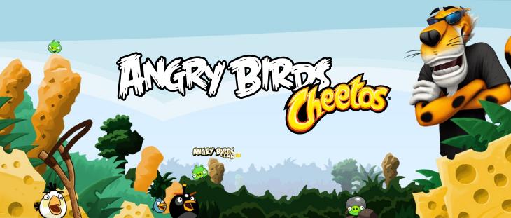 Новая мини-игра Angry Birds Cheetos
