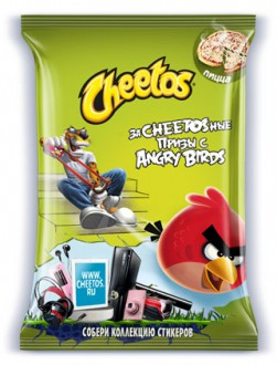 Angry Birds Cheetos - русская пачка