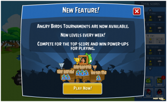 Angry Birds Friends - Анонс турнирного режима в игре