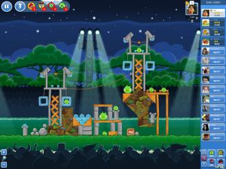 Angry Birds Friends - Неделя 1 Уровень 2