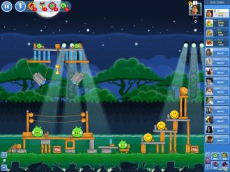 Angry Birds Friends - Неделя 1 Уровень 3