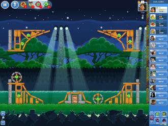 Angry Birds Friends - Неделя 1 Уровень 4