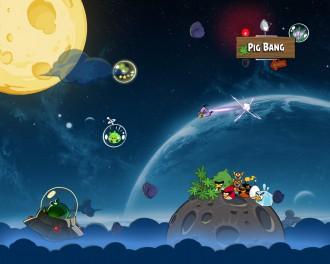 Angry Birds Space обои 1280x1024 от Sal