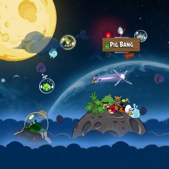 Angry Birds Space обои для iPad от Sal