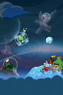 Angry Birds Space обои для iPhone от Sal 2