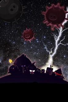 Angry Birds Space обои для iPhone от Sal 3