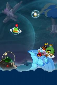 Angry Birds Space обои для iPhone от Sal 4