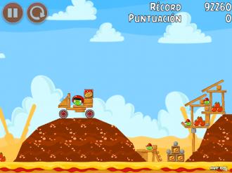 Angry Birds Telepizza Уровень 1