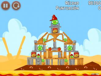 Angry Birds Telepizza Уровень 2