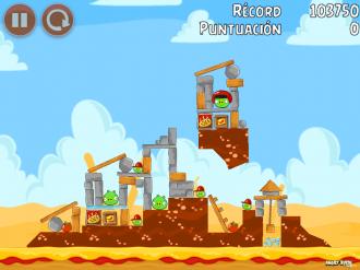 Angry Birds Telepizza Уровень 3