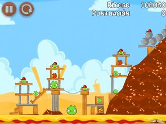 Angry Birds Telepizza Уровень 4