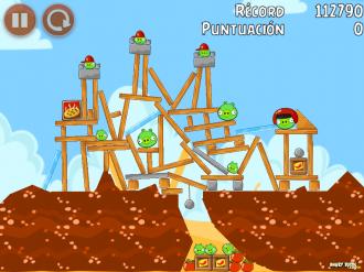 Angry Birds Telepizza Уровень 5