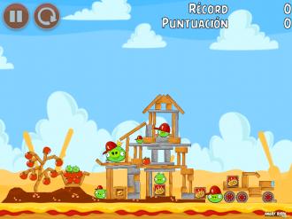Angry Birds Telepizza Уровень 6