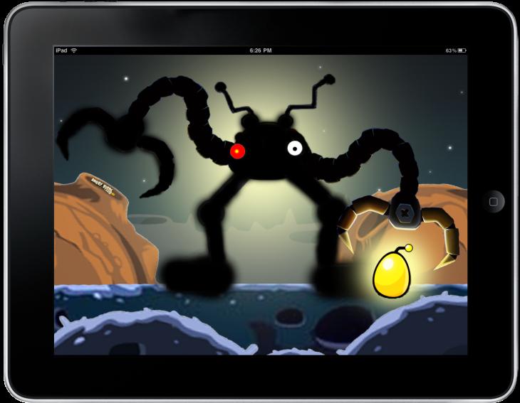 Обои Angry Birds на iPad от Mr. Green